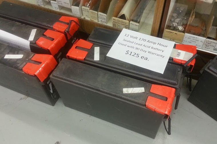 170AH Lead Acid Battery